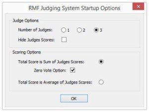 RMF Judging Options